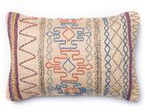 Loloi Aztec Yarn Rectangle Down Throw Pillow in Tan