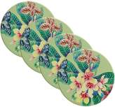 Maxwell & Williams Exotica Ceramic Frangipani Coaster (Set of 4)