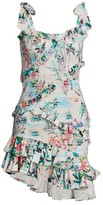 Rococo Sand Tropical Ruffle Mini Dress