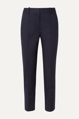 Loro Piana Stretch-cotton Twill Straight-leg Pants - Light blue