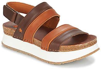 Art MYKONOS women's Sandals in Brown