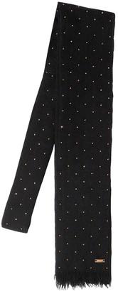 Saint Laurent Small Studded Wool Tie