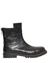 Gareth Pugh Kombat Leather Boots