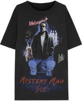 MM6 MAISON MARGIELA Oversized Printed Cotton-jersey T-shirt