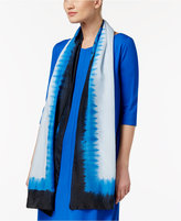 Eileen Fisher Printed Silk Scarf
