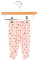 Oeuf Girls' Cherry Print Leggings