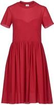 Acephala Bustier Top Midi Dress