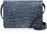Vince Medium Croc-Embossed Shoulder Bag - 100% Bloomingdale's Exclusive