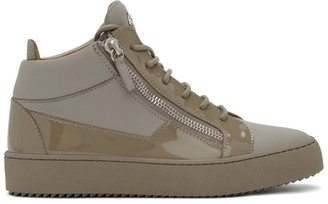Giuseppe Zanotti Grey Birel Vague May London Sneakers