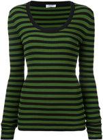 Sonia Rykiel striped jumper - women - Cotton/Polypropylene - M