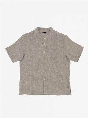 Il Gufo Shirt With Mandarin Collar