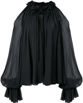 Jonathan Simkhai ruffled blouse