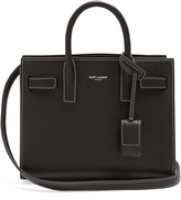 Saint Laurent Sac De Jour nano grained-leather tote