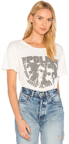 Junk Food Clothing The Police Tee in White