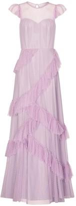 Aidan Mattox Tulle Dress Spirit