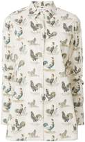 Carven print long-sleeve shirt