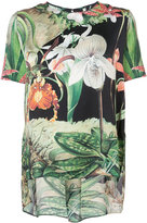 ADAM by Adam Lippes floral T-shirt - women - Silk - 0