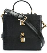 Dolce & Gabbana double padlock box bag