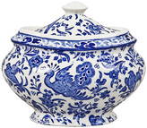 Burleigh - Regal Peacock Jam Pot/ Covered Sugar Bowl
