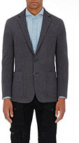 Ralph Lauren Purple Label Men's Wool-Blend Two-Button Sportcoat-DARK GREY