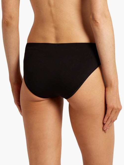 Thumbnail for your product : Hanro Touch Feeling Midi Briefs - Black