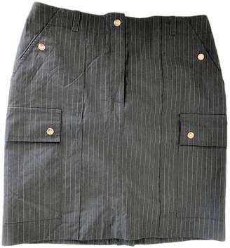 Et Vous Grey Cotton - elasthane Skirt for Women