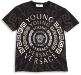 Versace Little Boy's Young Graphic Tee
