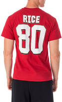 Majestic San Francisco 49ers NFL Jerry Rice Name and Number T-Shirt