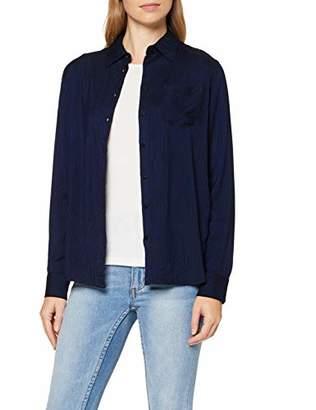 Wrangler Women's Regular 1 Pkt Shirt Blouse,Small