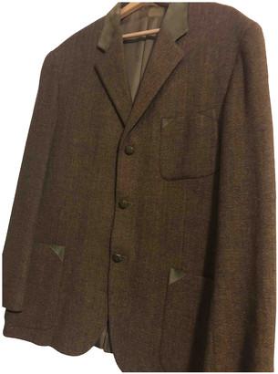 Hermes Khaki Wool Jackets