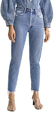 AGOLDE Jamie High Rise Classic Jeans in Livestream