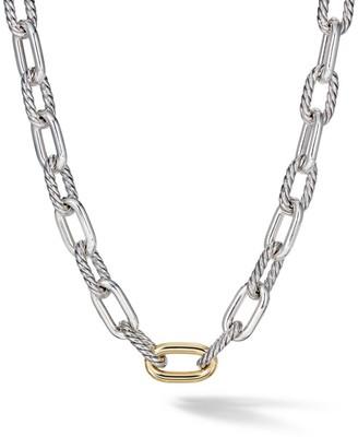 David Yurman Madison 18K Yellow Gold & Sterling Silver Necklace