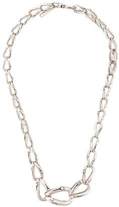 John Hardy Bamboo graduated link necklace