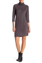 Bobeau Turtleneck Dress (Petite)