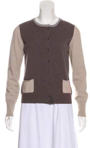 Fabiana Filippi Wool Button-Up Cardigan