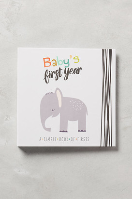 Baby's First Year Journal By Lucy Darling in Blue Size ALL