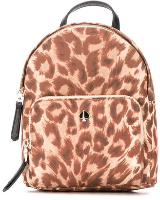 Kate Spade Leopard Print Backpack