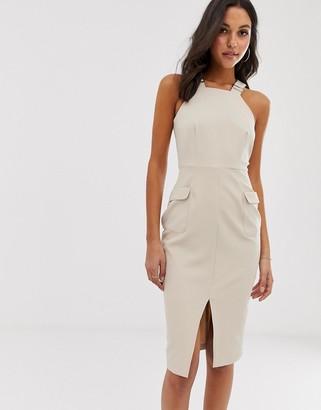 UNIQUE21 utility tailored dress