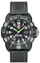 Luminox Men's 'Coronado' Rubber Strap Watch, 44Mm