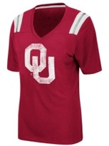 Thumbnail for your product : Colosseum Women's Oklahoma Sooners Rock Paper Scissors T-Shirt