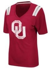 Colosseum Women's Oklahoma Sooners Rock Paper Scissors T-Shirt