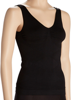 Black Firm Compression Ruched Shaper Camisole