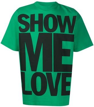 Honey Fucking Dijon Show Me Love oversized T-shirt