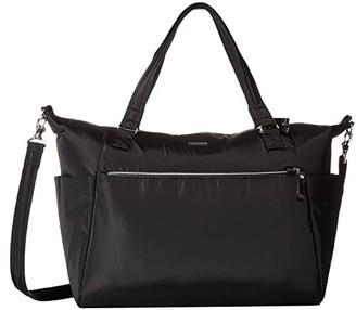 Pacsafe Stylesafe Anti-Theft Tote (Black) Tote Handbags
