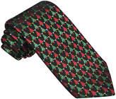Asstd National Brand Hallmark Woven Small Christmas Tree Tie - Extra Long
