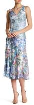 Komarov Sleeveless Tea Length Dress (Petite)