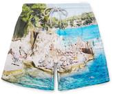 Vilebrequin Moorea Mid-Length Slim-Fit Printed Swim Shorts