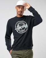 Stussy Sweathshirt With Large Logo