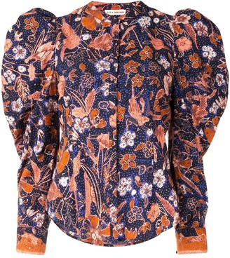 Ulla Johnson Willa floral-print cotton shirt