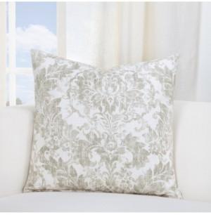 """Siscovers Parlour Drift Linen 20"""" Designer Throw Pillow"""
